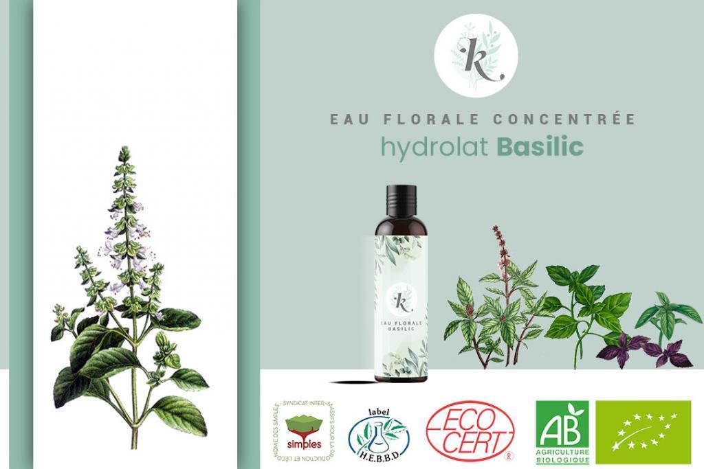 Hydrolat basilic