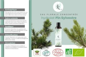 eau florale pin