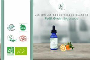Huile essentielle Petit Grain Bigarade BIO